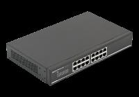 SG16-M * Switch gigabit cu 16 porturi ethernet 10/100/1000Mbps cu carcasa metalica