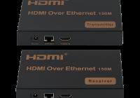 TT-EX07 * Extender HDMI, USB, IR prin TCP/IP