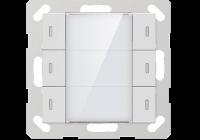 CHPLE-06/02.1.00 * Buton KNX modular 55 mm - 6 canale