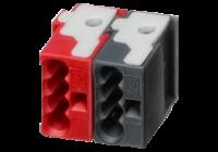 KNX-BR * Conector WAGO KNX negru/ rosu