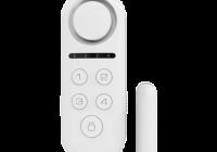 KR-D3 * Contact magnetic standalone wireless, dublu, cu 4 zone, sirena incorporata, telecomanda si cod PIN