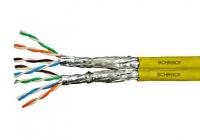 HSKP822HY5 * Cablu S/FTP Cat.7a, 2x(4x2xAWG22/1), 1.2Ghz, LS0H-3, Cca,50% [500ml]