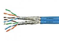 HSKP822HB5 * Cablu S/FTP Cat.7a, 2x(4x2xAWG22/1), 1.2Ghz, LS0H-3, Cca,50% [500ml]