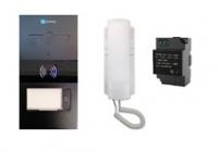 WL-07D2H * Set interfon audio pentru vila compus din : 1 Panou de apel, 1 Post de interior audio, Transformator