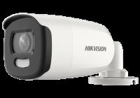DS-2CE12HFT-F28 * ColorVU - Camera AnalogHD 5MP, lentila 2.8mm, Lumina alba 40 m