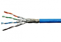 HSKP422HP5 * Cablu S/FTP Cat.7a, 4x2xAWG22/1, 1.500Mhz, LS0H-3, Dca, albastru [500ml]