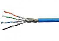HSKP423HB9 * Cablu S/FTP Cat.7, 4x2xAWG23/1, 1.000Mhz, LS0H, Dca, 40%, albastru [100ml]