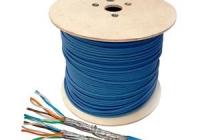 HSKP823HB5 * Cablu S/FTP Cat.7, 2x(4x2xAWG23/1), 1.0Ghz, LS0H, Dca, 40%, albastru [500ml]