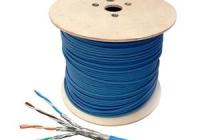 HSKP4233P1 * Cablu S/FTP Cat.7, 4x2xAWG23/1, 1000Mhz, LS0H-3, Dca, 30%, albastru [1000ml]