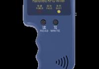 ZX-8211 * Duplicator portabil pentru cartele/taguri EM 125 kHz sau compatibile