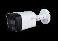 HAC-HFW1239TLM-A-LED * Camera supraveghere exterior Full Color Dahua Starlight, 2 MP, LED-uri albe 40 m, 3.6 mm, microfon
