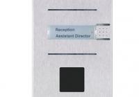 9137111CU * Helios IP Vario 1 Button + cam Door Entry Panel