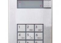 9137111KU * Helios IP Vario 1 Button + Keypad Door Entry Panel