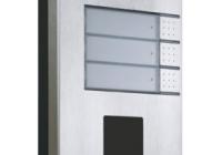 9137131CU * Helios IP Vario 3 Button + cam Door Entry Panel