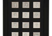 9155031B * Helios IP Verso - Keypad Module, Black