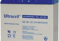 ACC 18A/12V * Acumulator Ultracell 12V - 18Ah