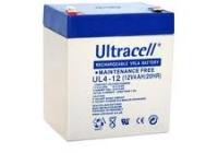 ACC 4A/12V * Acumulator Ultracell 12V - 4Ah