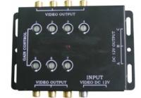 AMPLIF-07 VID * Amplificator pentru 7 posturi VIDEO COLOR