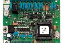 ATS-1170 * Interfata pentru controlul si administrarea unei usi controlate intr-o singura directie