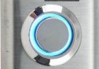 BI-01LED * Buton de acces incastrabil din inox cu led