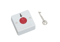 BT-27 * Buton de panica aplicabil, din plastic, cu cheie