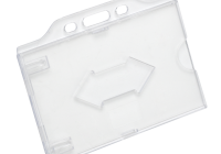 CH-026H * Suport ecuson din PVC, rezistent la indoire, deschidere si prindere orizontala