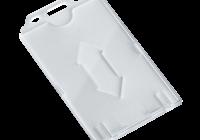 CH-026V * Suport ecuson din PVC, rezistent la indoire, deschidere si prindere verticala