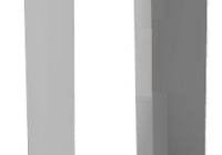CI.1*2/1*4 * Carcasa montaj aparent pentru panou WL-02NE1*2 / WL-02NE1*4