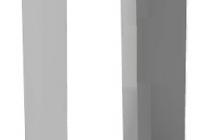 CI.1*6/1*8/2*8 * Carcasa montaj aparent pentru panou WL-02NE1*6 / WL-02NE1*8 / WL-02NE2*8