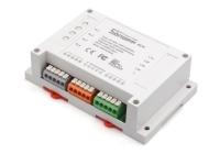 Controler WIFI SONOFF 4CH * Comutator wireless care suportă până la 4 dispozitive conectate în același timp