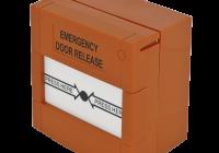 CPK-861O * Buton aplicabil din plastic, pentru iesire de urgenta - portocaliu