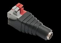 DCF-P(P10) * Conector DC female rapid, terminale push [10buc]