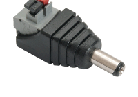 DCM-P(P10) * Conector DC Male, terminale push [10buc]
