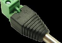 DCM-Q(P10) * Conector alimentare Male - bloc terminal detasabil [10buc]