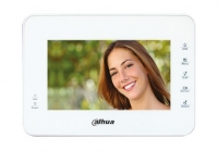 DHI-VTH1560BW * Monitor videointerfon, LCD 7 inch, 5 butoane touchscreen, Alb