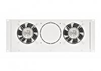 "DLT44802-A * Unitate cu 2 ventilatoare 19"" cu termostat"