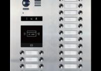 DMR21-D32-F1 * Panoul de apel video modular cu camera wide angle, 32 butoane de apel si un locas blank (pentru module R21)