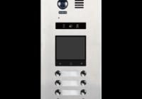 DMR21-D8-F1 * Panou de apel video modular cu camera wide angle, 8 butoane de apel si un locas blank