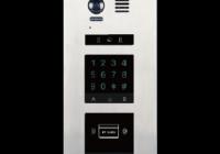 DMR21-F2 * Panou de apel video modular cu camera wide angle si doua locasuri blank