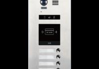 DMR21-S4-F1 * Panou de apel video modular cu camera wide angle, 4 butoane de apel si un locas blank