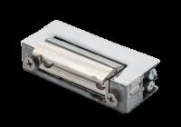 DORCAS-54AaDF * Yala electromagnetica incastrabila, ajustabila, reversibila, memorie mecanica, buton deblocare