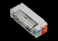 DORCAS-99N512F * Mini yala electromagnetica incastrabila reversibila, ajustabila