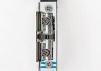 DORCAS-99NF305-412-TOP-PRE * Incuietoare electromagnetica incastrabila pentru usi cu deschidere sub presiune, cu monitorizare, ajustabila