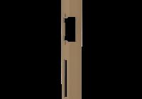 DORCAS-F101-L/R * Suport lung Dorcas - usi de lemn
