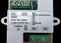 DT-DBC2S * Distribuitor de semnal cu 2 ramuri