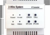 DT-IPG * Convertor Gateway IP pentru sistemele de interfonie 2Easy