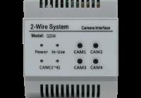 DT-QSW * Separator 4 camere analogice, pentru sistemele 2Easy