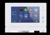 DT47MG-TD7-wh * Post de interior video cu conexiune pe 2 fire si ecran color LCD, alb