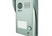 DT602-C-RH * Panou video color de apel exterior, cu conexiune pe 2 fire, camera video CCD WIDE ANGLE 105° incorporata