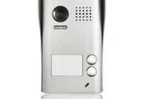 DT602D-C-RH * Panou video color de apel exterior, cu conexiune pe 2 fire, camera video CCD WIDE ANGLE 105° incorporata